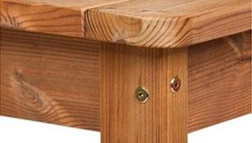 Dřevěný zahradní nábytek PROWOOD z masivního materiálu ThermoWood