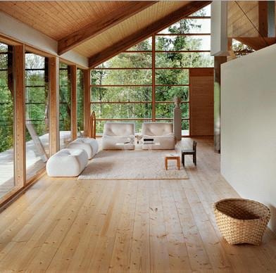 ThermoWood – dřevěné profily vhodné na podlahy v interiéru