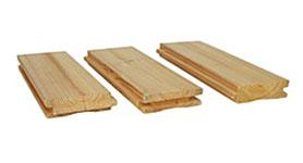Tepelně upravené dřevo ThermoWood – profily pro interiérové podlahy