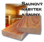 Saunový nábytek a vybavení pro sauny
